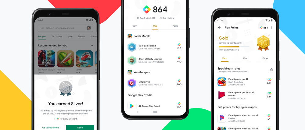 Google Play Points y su programa de recompensas llega a España
