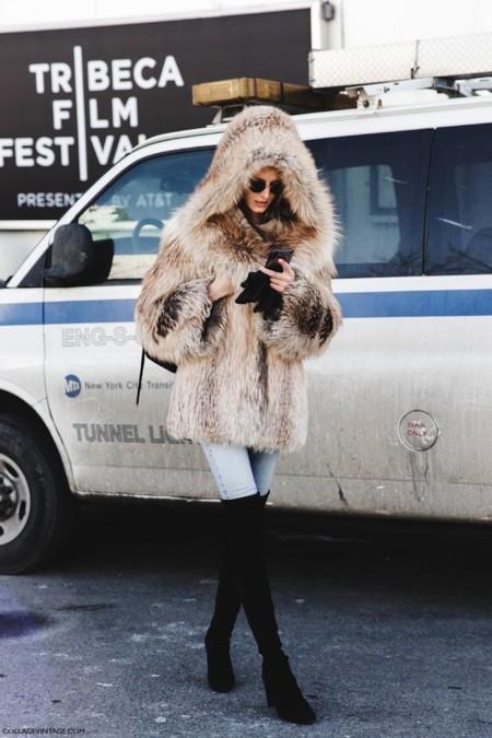 Nyfw Streetstyle 2015 Fur 5