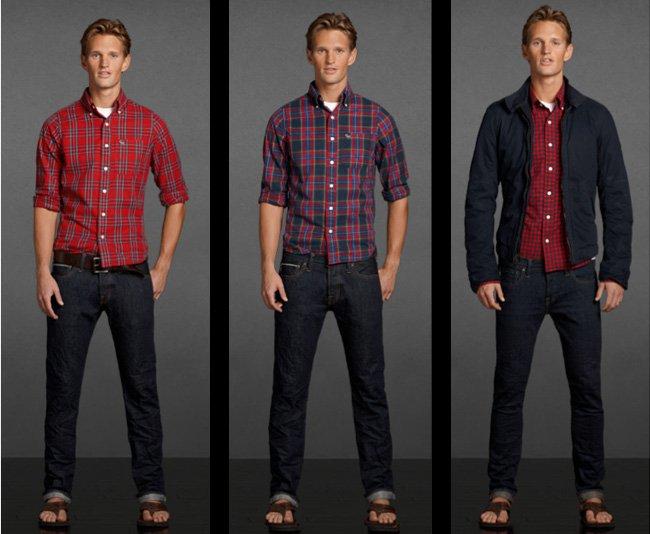 Camisas Abercrombie Para Hombre