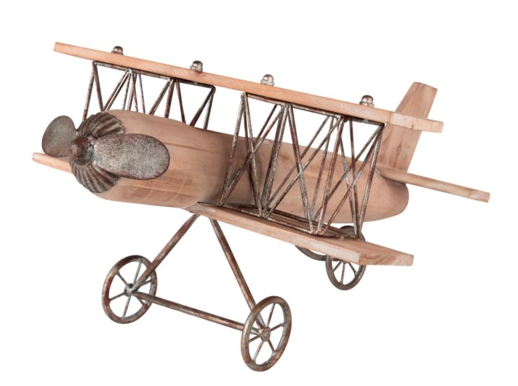 Figura de avión Hayden, de abeto Alt.37