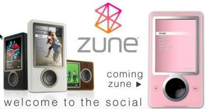 El MS Zune en color rosa, el 1 de mayo