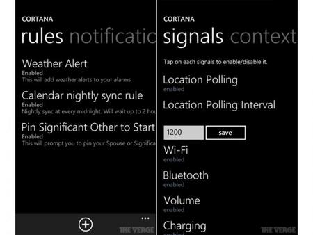Cortana será el equivalente a Siri o Google Now, un asistente integrado Windows Phone 8.1