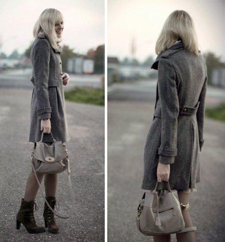 Jana abrigo Moda en la calle