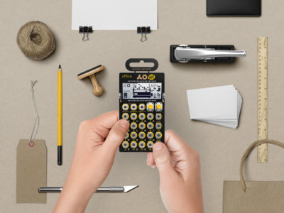 Sintetizadores de bolsillo que nos proponen sonidos de los ochenta: Pocket Operator