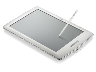 Samsung E6 y E101 son los primeros lectores de libros electrónicos de Samsung