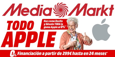 Todo Apple: productos Apple rebajados y con financiación sin intereses esta semana, en Mediamarkt