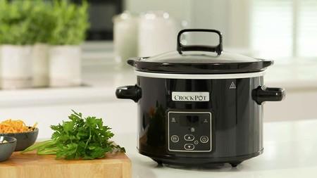 Olla de cocción lenta Crock-Pot CSC061X rebajada hoy en Amazon: por 34,99 euros y envío gratis