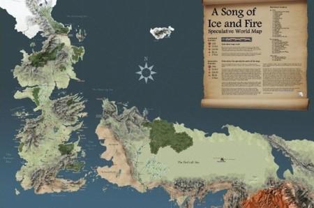 Una clase de geografía sobre el mundo de 'Juego de Tronos' y una vista al estilo Google Maps