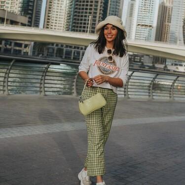 Vuelven los pantalones de cuadros: siete modelos low-cost con los que querrás vestir como una golfista a todas horas