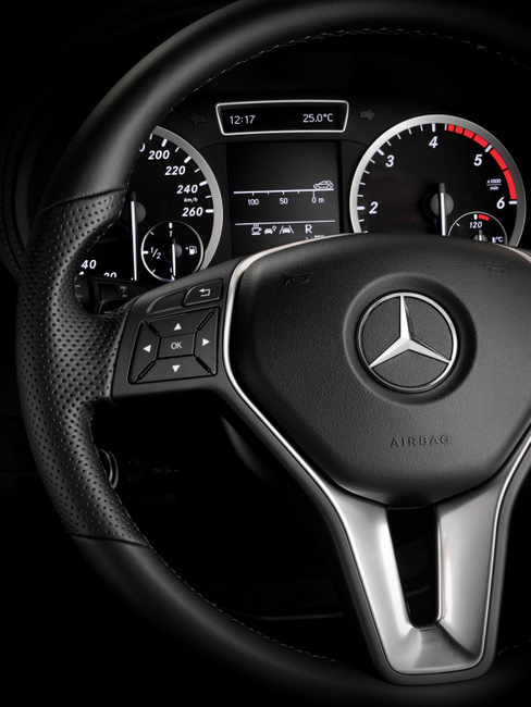 Foto de Mercedes-Benz Clase B 2012 fotografías interior (2/7)