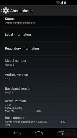 Android 4.4.3 se deja ver antes de salir y sí, se solucionará el problema del consumo de batería