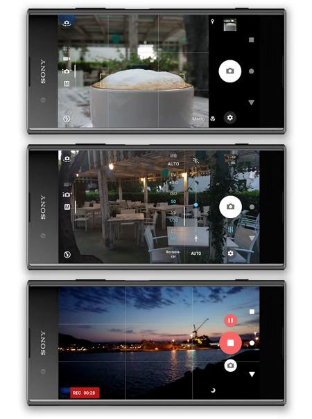 Sony Xperia Xz1 Interfaz App Camara