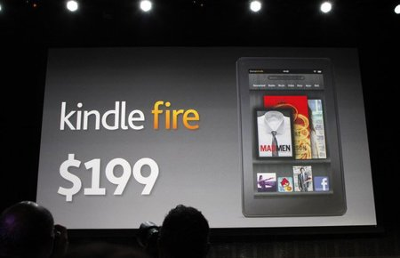 Amazon presentó su tablet: la Kindle Fire