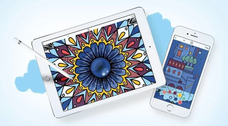 Cinco aplicaciones para colorear y relajarte con tu iPhone o iPad