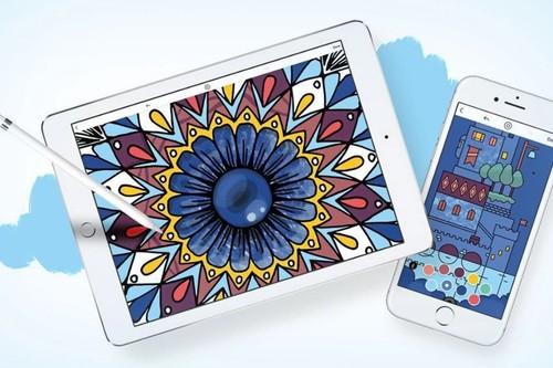 Cinco aplicaciones para colorear y relajarte con tu iPhone o iPad