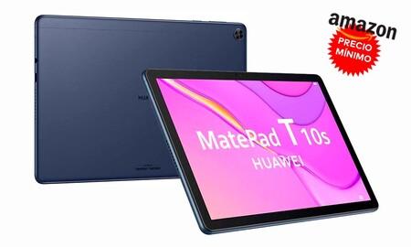 Más barata todavía y a precio mínimo, la Huawei MatePad T 10s es la tableta idel para regalar ahora que Amazon la tiene por 169 euros