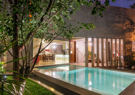 Una espectacular casa en México en la que la naturaleza, el agua y la arquitectura son parte fundamental de su diseño