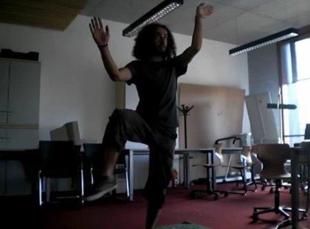 'Silhouetris', el 'Tetris' de Kinect. Uno de los mejores usos del aparato de Microsoft hasta la fecha: nosotros somos la ficha