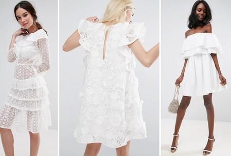 Vestidos Blancos Verano 2017 2
