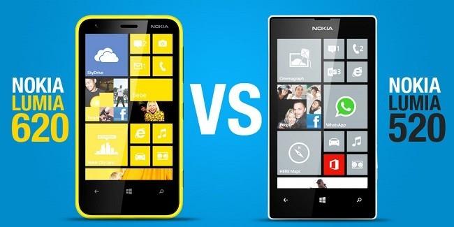 Nokia Lumia 620 y Nokia Lumia 520