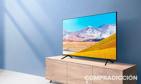 100 euros más barata que en otras tiendas: Amazon te deja una smart TV superventas como la Samsung 50TU8005 por sólo 469,99 euros