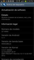 Samsung S3 por fin se actualiza en México