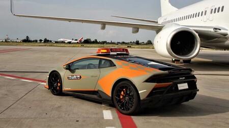 Lamborghini Huracan Evo Aeropuerto Bolonia 1