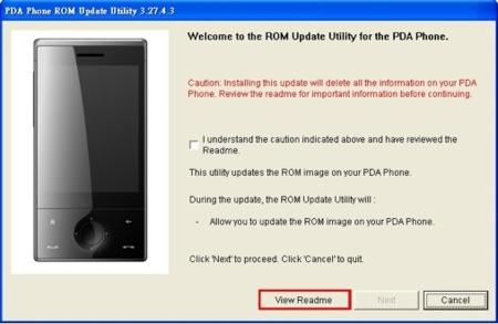 Nueva ROM oficial para la HTC Touch Diamond