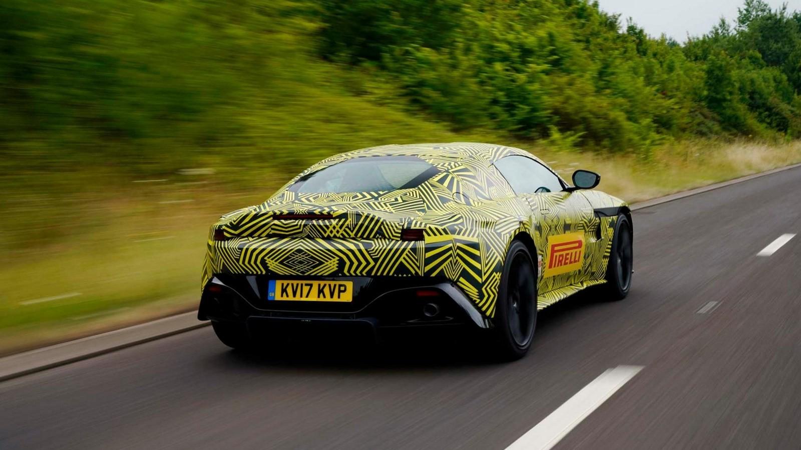 Foto de Aston Martin Vantage 2018 Teaser (1/4)