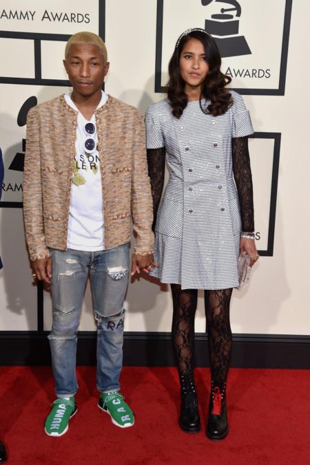 Pharrell Williams 58th Annual Grammy Awards February 15th 2016