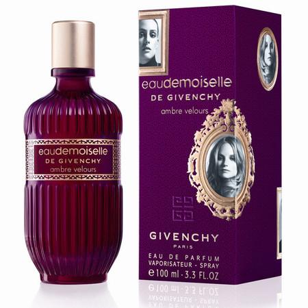 """""""Eaudemoiselle Ambre Velours"""" de Givenchy , la caricia suntuosa y sensual de una fragancia de aspecto vintage"""