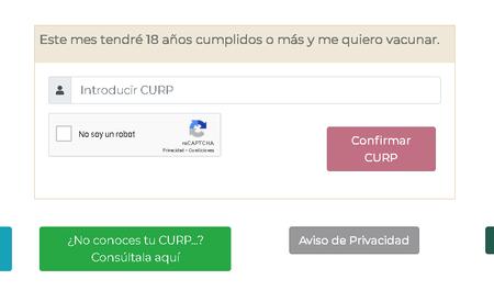 Registro Vacuna Covid 19 Adultos 18 Anos Mexico