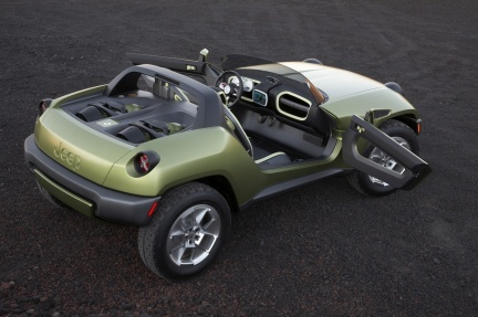 Jeep Renegade Concept, el todoterreno amigo del Medio Ambiente