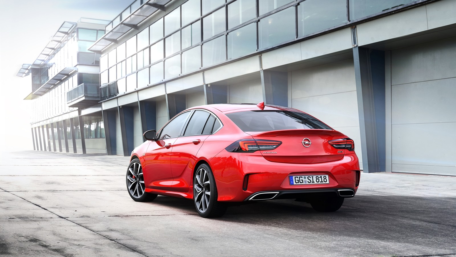 Foto de Opel Insignia GSi 2018 (5/7)