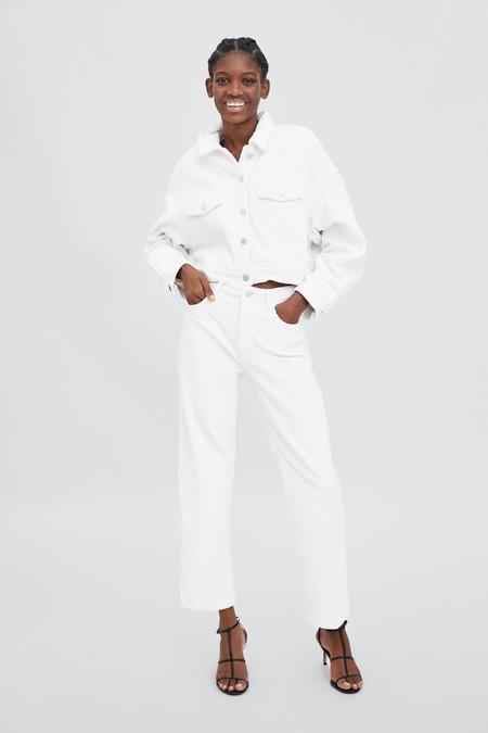 Pantalones Blancos Pana