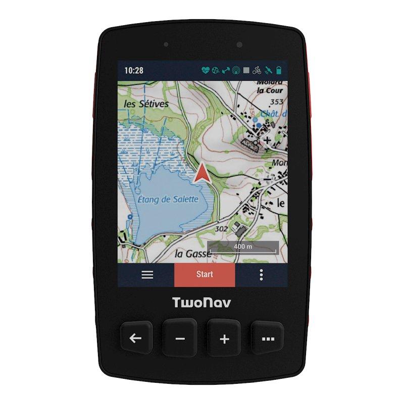 TwoNav Trail 2 Bike GPS para Bicicleta Rojo