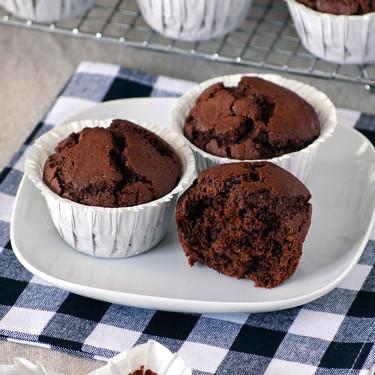 Muffins de chocolate, whisky y café: receta para adultos golosos