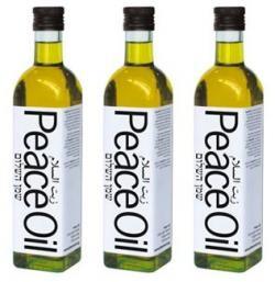 Peace Oil, un aceite por la paz