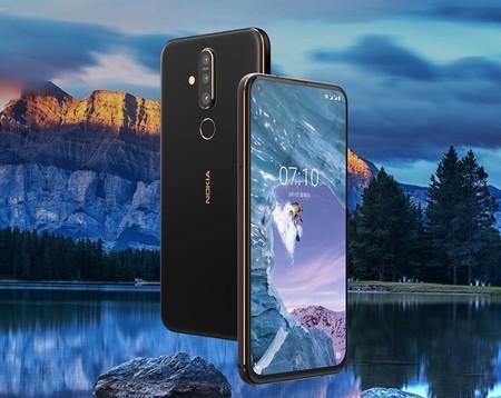 Nokia X71: agujero en la pantalla y cámara triple para un gama media con mejor diseño que su buque insignia