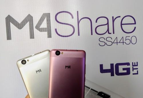 M4 Share, el smartphone de la mexicana que va por el mercado de gama baja
