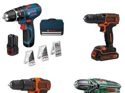 Día de la herramienta en Amazon: 4 taladros Bosch y Black & Decker rebajados sólo hoy