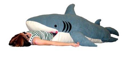 Ataque tiburón, ¡a dormir!