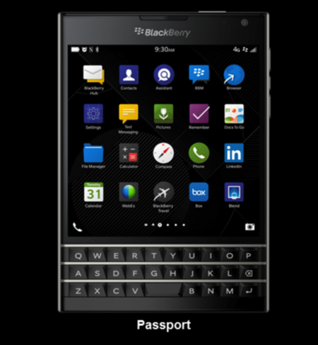 BlackBerry Passport y Classic