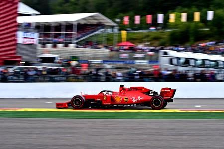 Vettel Spa F1 2019