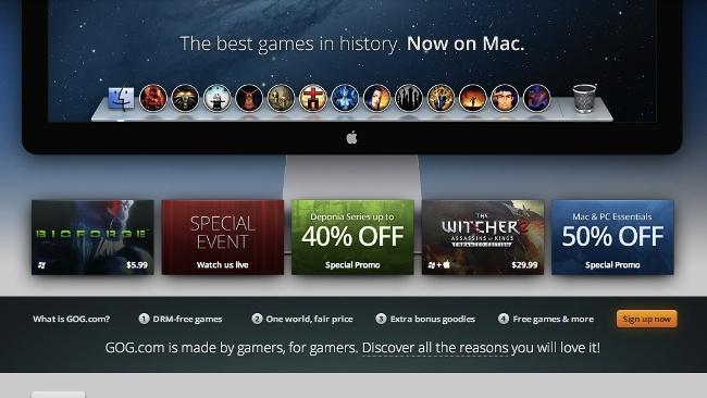 gog.com mac juegos