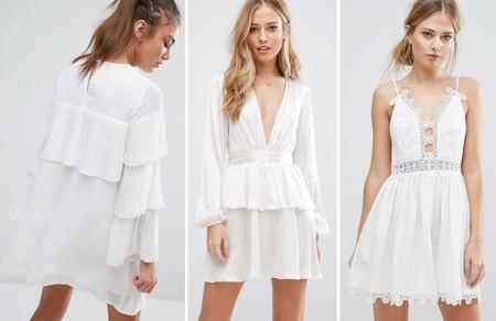 Vestidos Blancos Verano 2017 1