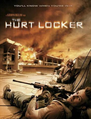 Póster de 'The Hurt Locker' de Kathryn Bigelow