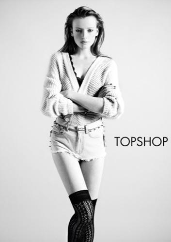 TopShop, colección Denim Primavera-Verano 2010: el vaquero de la mujer joven V