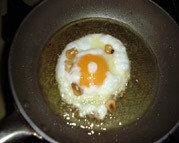 El arte del huevo frito