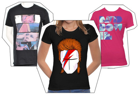 Camisetas David Bowie 2